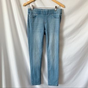 Liverpool Sienna Pull On Ankle Skinny Jeans Sz 2